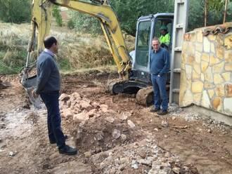 La Diputación invierte más de 150.000 euros en obras de pavimentación y redes hidráulicas