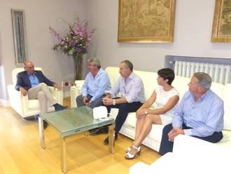 Latre continúa con la ronda de reuniones de trabajo con alcaldes y concejales de la provincia