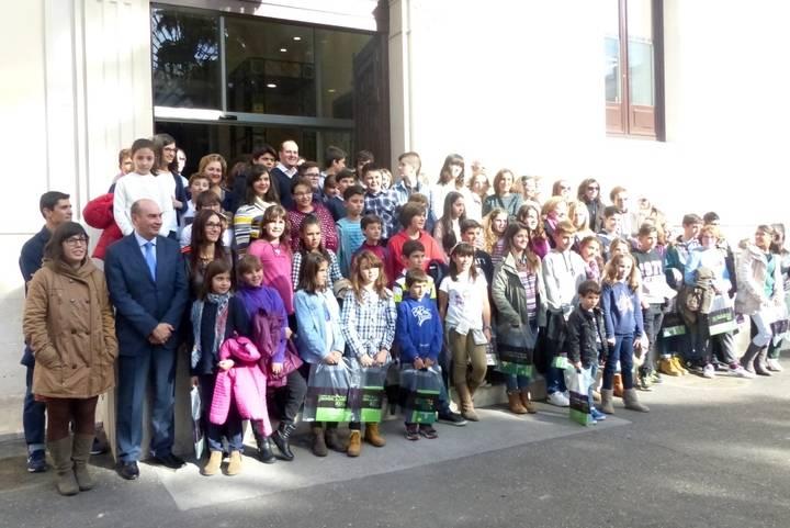 Un centenar de niños y niñas asisten al I Foro por la Participación Infantil organizado por la Diputación y Unicef