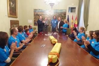 Latre felicita al Club de Salvamento y Socorrismo por sus éxitos en el Campeonato de Europa Master