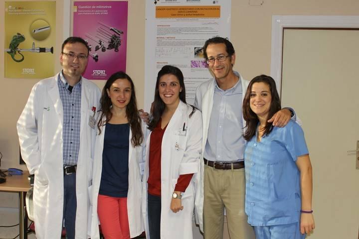 Profesionales del Complejo Hospitalario de Toledo, premiados por un trabajo sobre cáncer gástrico hereditario
