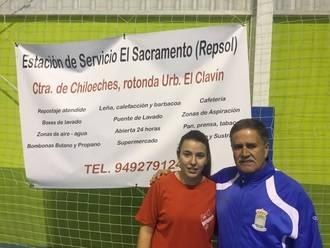 Paula Cestero será 'profeta en su tierra' y debutará con el CD Chiloeches de 'Plata'