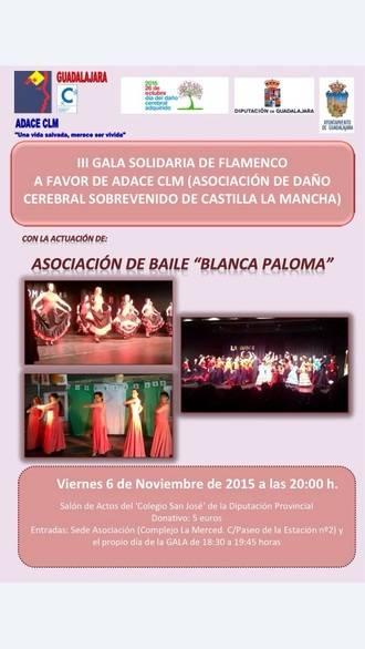 ADACE celebra en el San José su III Gala Solidaria de Falmenco
