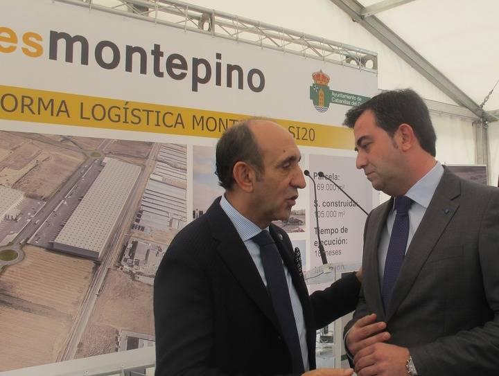 El PP celebra la apuesta de Inversiones Montepino por Cabanillas en el arranque oficial de las obras de su ambiciosa plataforma logística