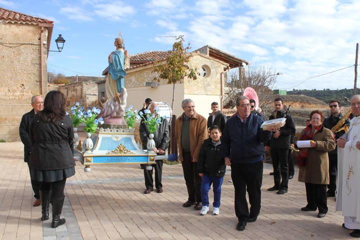 Morillejo honra a su patrona, la Virgen de la Inmaculada