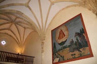 Los frescos de la Ermita de los Enebrales de Tamajón recuperan su esplendor original