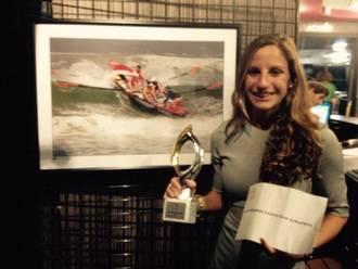 La deportista del Alcarreño, Itziar Abascal, Mejor Socorrista Europea 2015