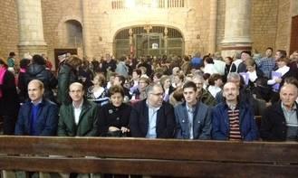 Juan Pablo Sánchez asiste al Certamen de Villancicos de Pareja