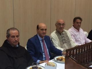 El subdelegado del Gobierno en Guadalajara asiste a los actos de celebración del LX Día de Segovia