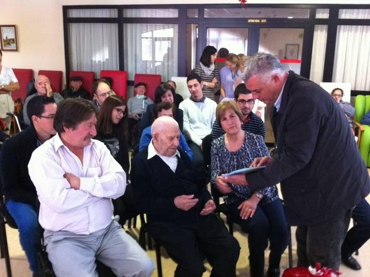 Claudio Ortiz, de Torrecuadradilla, celebra sus 100 años de vida en Cifuentes