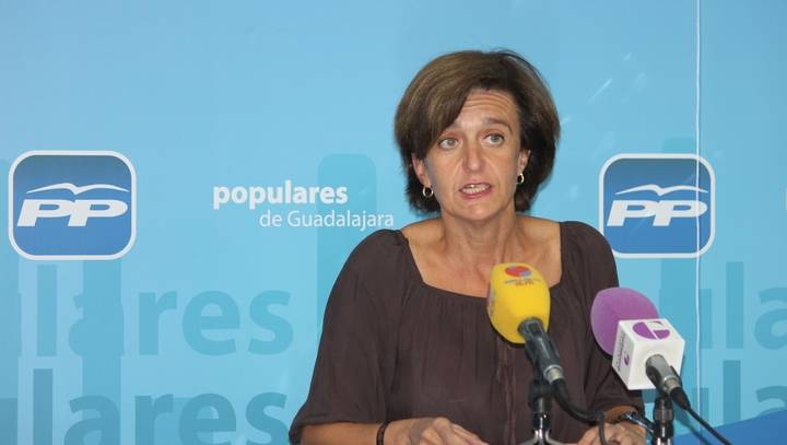 """Ana González destaca la """"fortaleza del PP"""" frente a un """"PSOE regional se está desmoronando"""""""
