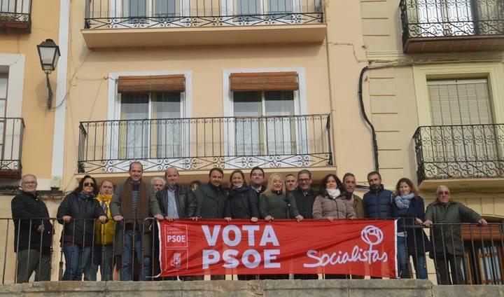 Luz Rodríguez apuesta en Molina de Aragón por el voto útil y por el desarrollo del mundo rural en igualdad de oportunidades