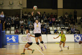 Almería Volley Grupo 2008 no puede con Motorsan Guadalajara