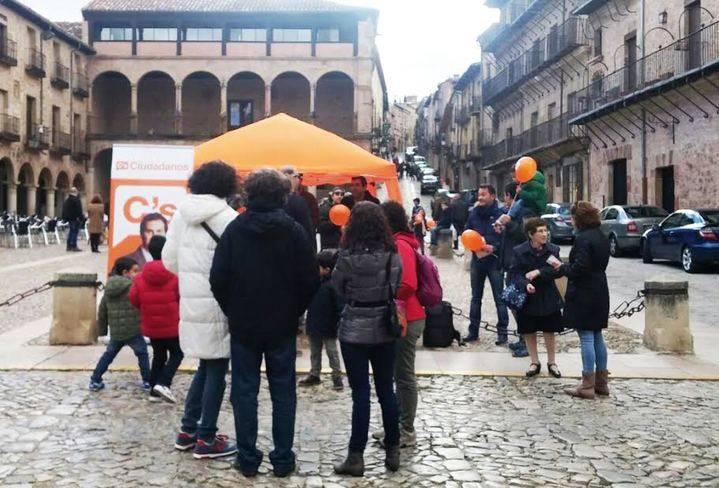 Ciudadanos Guadalajara inicia su ruta por la provincia en Sigüenza