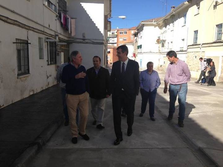 Concluyen los trabajos de acondicionamiento de una zona degradada de la Colonia Sanz Vázquez