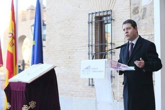 """García-Page: """"Hoy celebramos la mejor Constitución que ha tenido España y para la que no existe una alternativa global"""""""