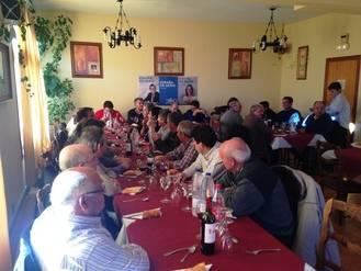 El PP reafirma en Galve de Sorbe su compromiso con todos los pueblos de Guadalajara