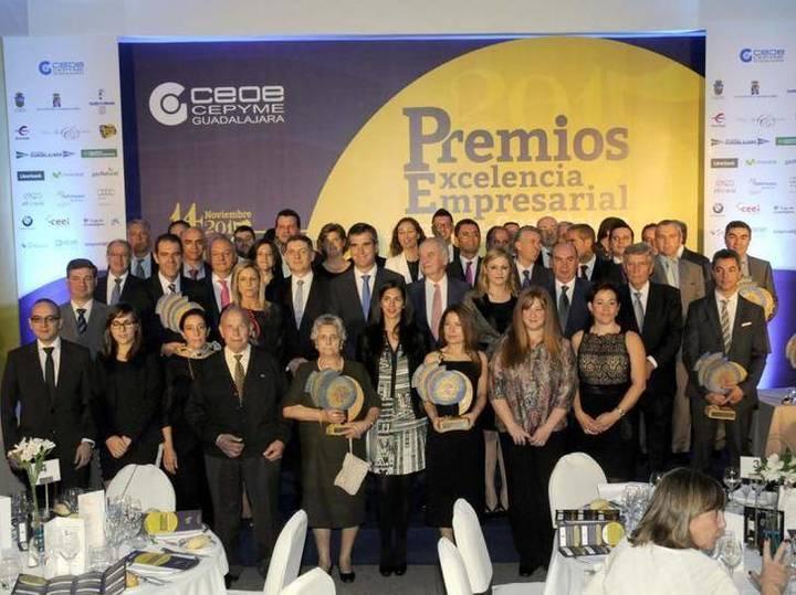 CEOE-CEPYME Guadalajara celebra su entrega de los Premios Excelencia Empresarial 2015