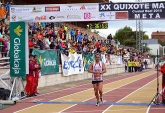 Gemma Arenas logra su 4ª triunfo y llega 4ª en la general del 20º Quixote Maratón, cuyo vencedor absoluto fue Mauricio Lobato