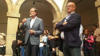 """Rajoy en Toledo : """"La unión hace la fuerza y la desunión lleva a la bancarrota"""""""