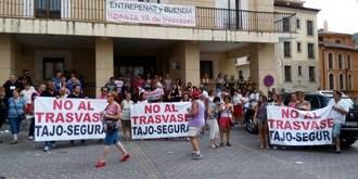 PP, PSOE, Ciudadanos y Ahora acudirán a la manifestación contra el trasvase de este domingo