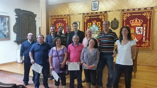 Un total de nueve personas se han formado en el Taller de Empleo de Horche