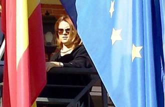 """Valdenebro califica de """"bochornosa"""" la actitud de la alcaldesa de Podemos en el homenaje a las víctimas de París"""