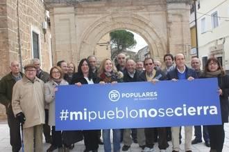 """Silvia Valmaña: """"Desde Cifuentes quiero decir alto y claro que nuestros pueblos no se cierran"""""""