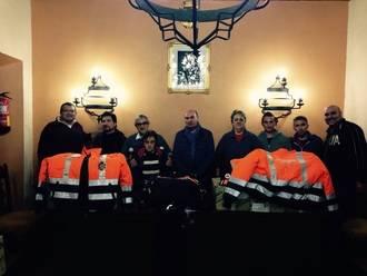 La Agrupación de Voluntarios de Protección Civil de Sigüenza estrenó equipación