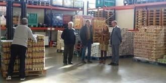 """Latre: """"La colaboración de la Diputación con el Banco de Alimentos seguirá siendo una prioridad"""""""