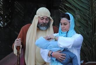 Alovera inauguró la Navidad con su tradicional Belén Viviente