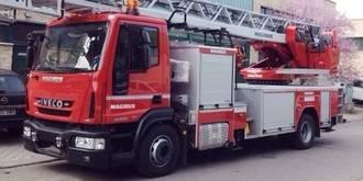 Incendio en la empresa Transportes Del Olmo esta madrugada