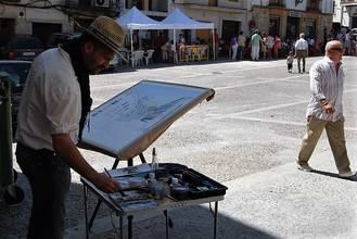 La pintura al aire libre vuelve a Horche el domingo 25 de octubre