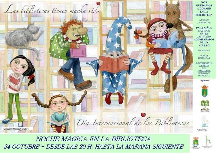 Los niños de Cabanillas celebrarán la Noche Mágica de su Biblioteca, pasando la noche en ella