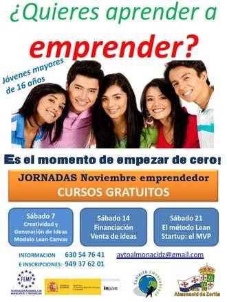 Almonacid de Zorita propone su 'Noviembre emprendedor' para los que quieran montar su propia empresa