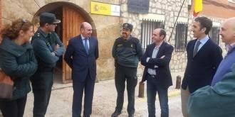 La Diputación ayuda a la Guardia Civil a remodelar cinco cuarteles de la provincia