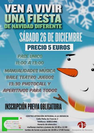 El Centro de Atención Integral a la Infancia de Azuqueca programa actividades en Navidad