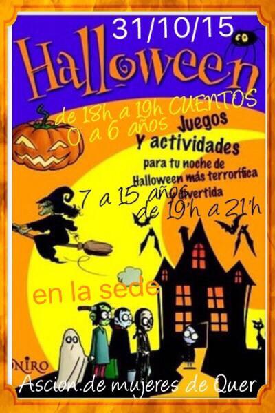 Se acerca Halloween para los vecinos de Quer