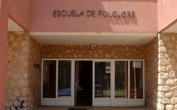 Demostraciones de artesanía de la Escuela de Folklore en Pálmaces de Jadraque el sábado 17