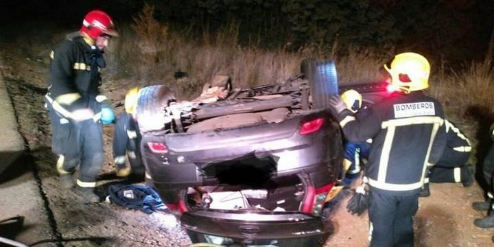 Una persona pierde la vida en un choque frontal en Fontanar