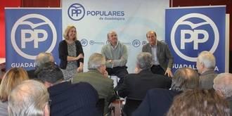 """Luis de Guindos en Guadalajara: """"España necesita el PP para consolidar la recuperación y poder crear 2 millones de puestos de trabajo"""""""