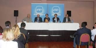 """Guarinos: """"España y los españoles necesitan hoy la seguridad, la tranquilidad y la estabilidad que representa el PP"""""""