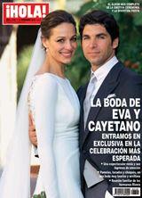 ¡HOLA! Todos los detalles de la boda de Cayetano y Eva