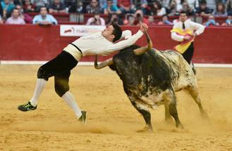 Guadalajara vs España, en el Concurso de Recortes del Coso de Las Cruces