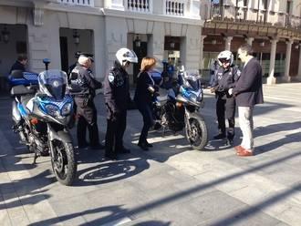 La Policía Local de Guadalajara cuenta desde hoy con cuatro nuevas motos
