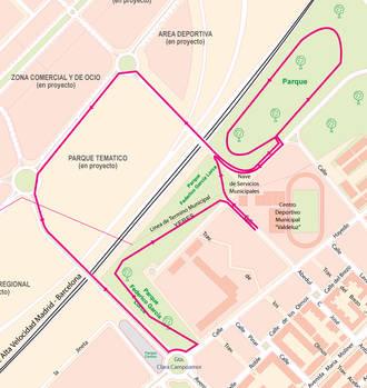 Este jueves se disputa la I Carrera del Pavo de atletismo en un circuito urbano por el núcleo de Valdeluz