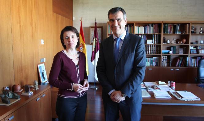 La consejera de Educación y el alcalde de Guadalajara reiteran la necesaria colaboración y lealtad institucional para desarrollar proyectos en común