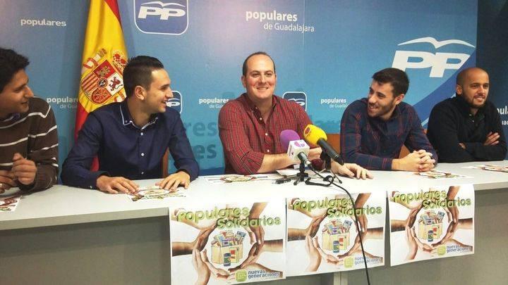 """Los jóvenes de NN GG Guadalajara suman este año tres nuevas localidades a la campaña """"Populares Solidarios"""""""