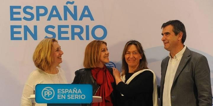 """Silvia Valmaña: """"El día 20 está en juego nuestro futuro y el de nuestros hijos y el único partido que lo puede garantizar es el Partido Popular"""""""