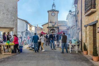 El concurso gastronómico del puchero da el relevo a la matanza y Las Candelas en Arbancón